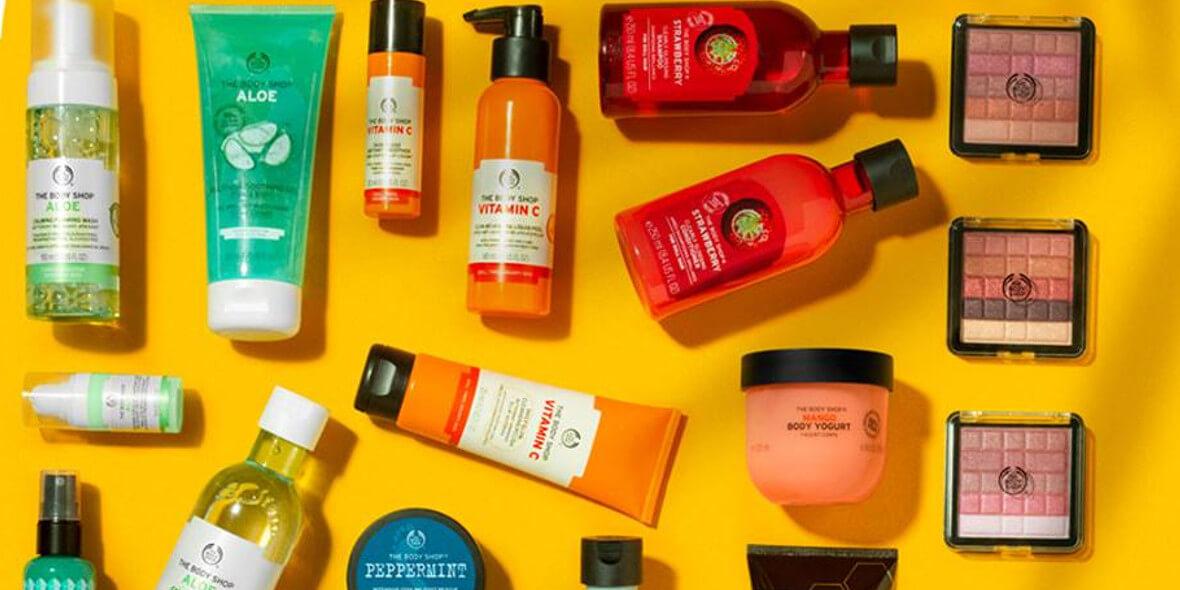 The Body Shop: -20% przy zakupie min. 2 produktów