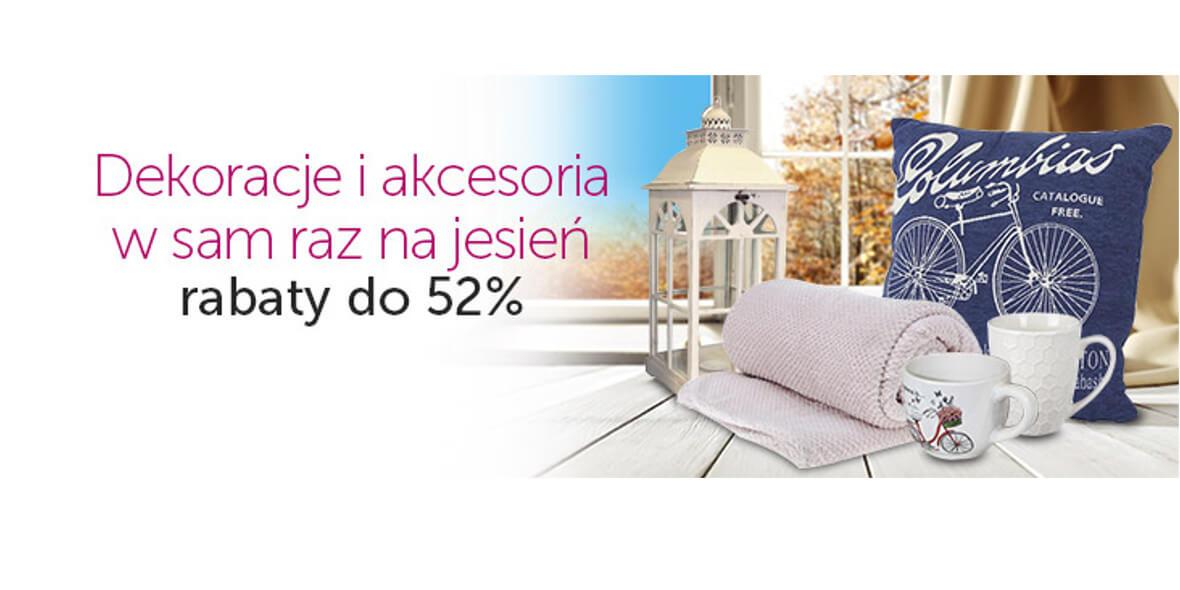 Do -52% na dekoracje i akcesoria
