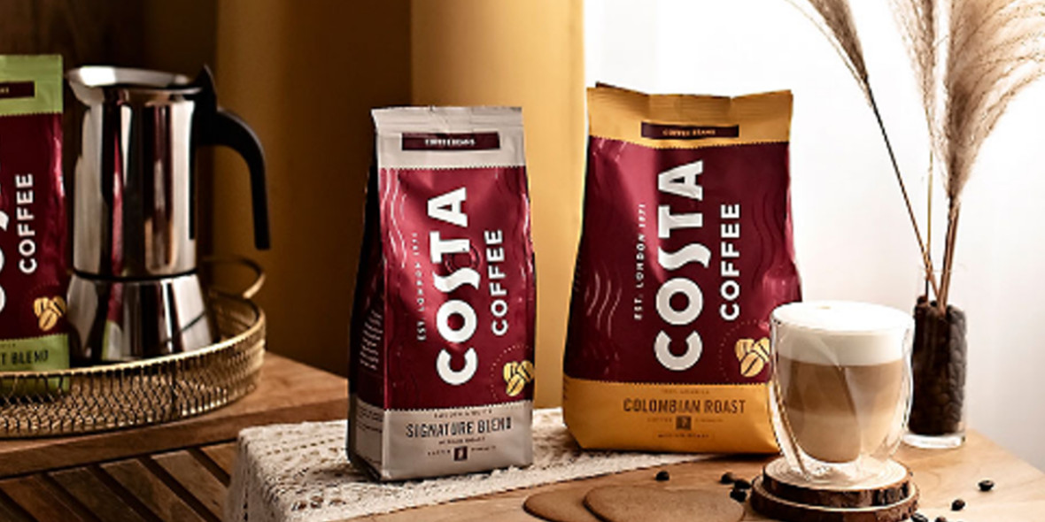 Konesso: Do 80% na kawy Costa Coffee 01.01.0001