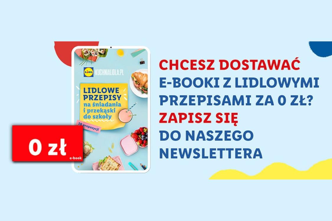 : 4 zł ZWROTU za zapisanie się do newslettera + E-book za 0 zł