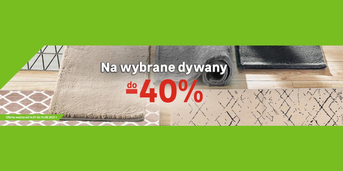 Leroy Merlin: Do -40% na wybrane dywany 14.07.2021
