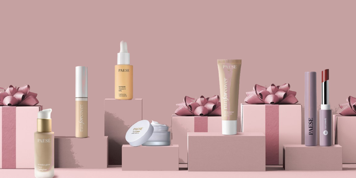 Paese Cosmetics: Kod: -25% na wszystko 08.01.2021