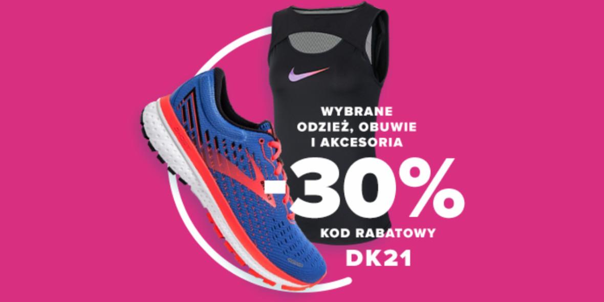Sklep biegacza:  Kod: -30% na wybrane damskie produkty 03.03.2021