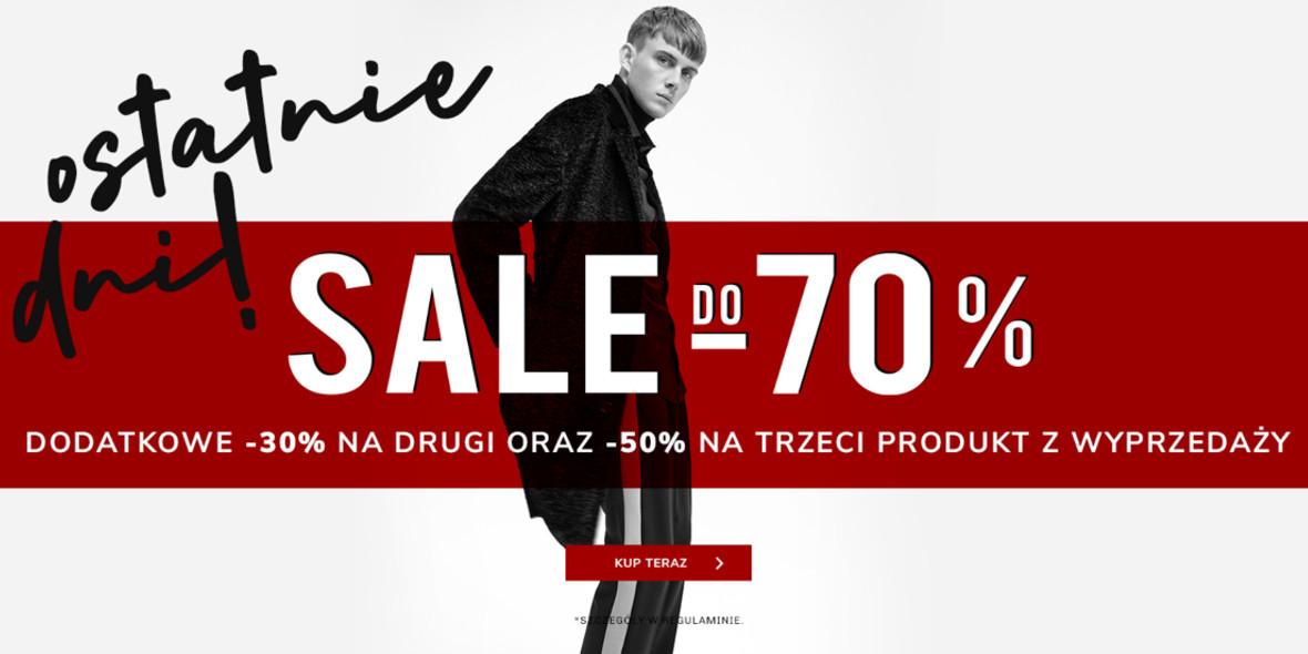 Vistula: Do  -70% i do -50% ekstra na kolejne produkty 03.02.2021