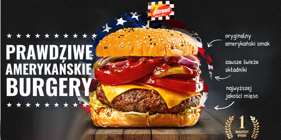 Prawdziwe Amerykańskie Burgery