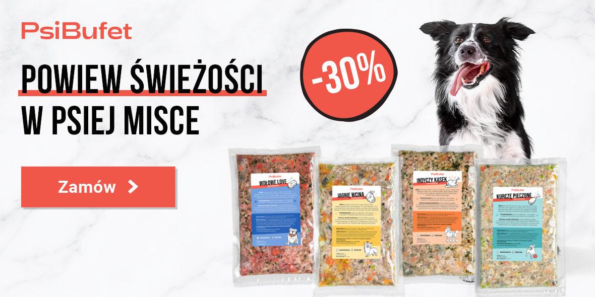 Psibufet.pl: Kod: -30% na zamówienie