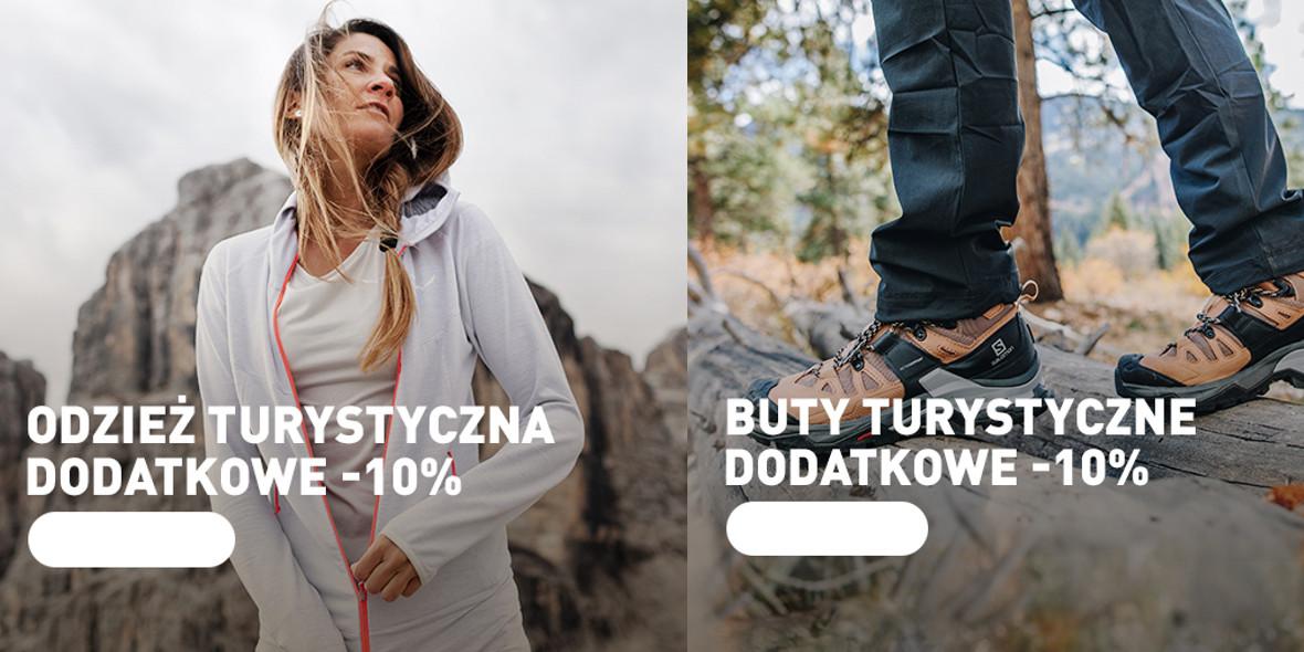 Intersport: -10% ekstra na odzież i obuwie turystyczne