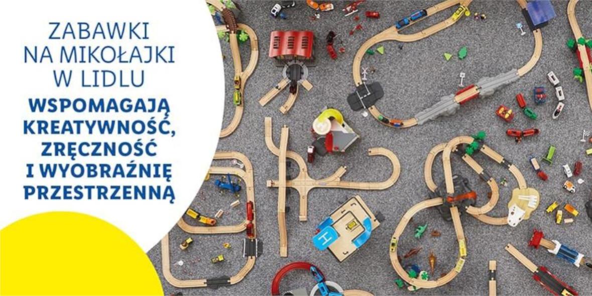 Lidl: ONLINE Zabawki na Mikołajki 12.11.2020