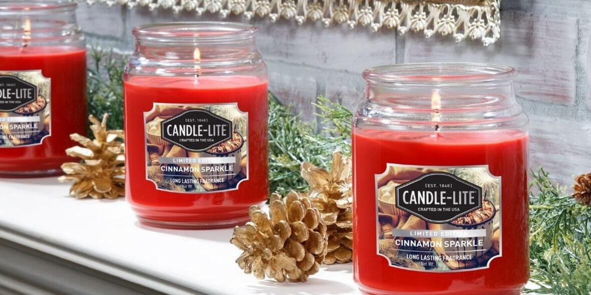 na wszystkie duże świece marki Candle Lite