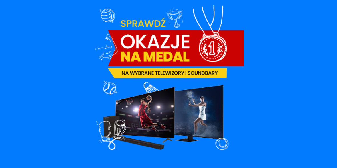 RTV EURO AGD: Do -1000 zł na telewizory i soundbary 05.08.2021