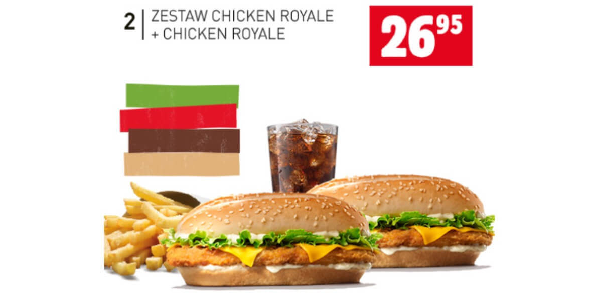 za zestaw Chicken Royale + Chicken Royale