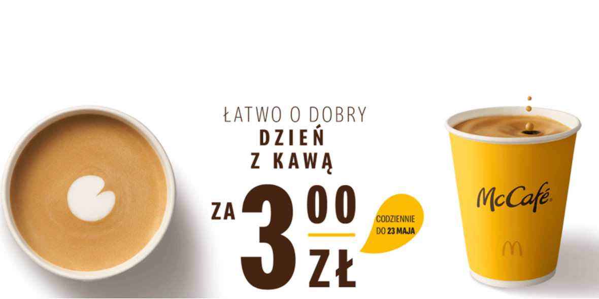 McDonald's:  3 zł za kawę 01.01.0001