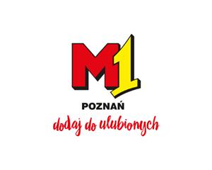 Logo M1 Centrum Handlowe Poznań