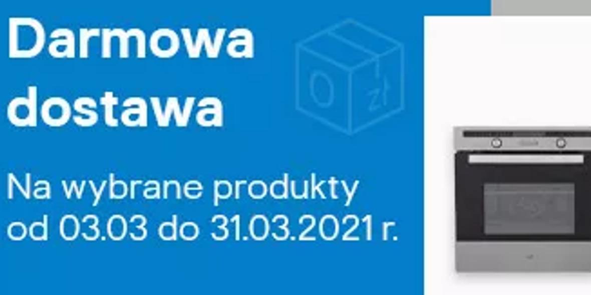 Castorama:  Darmowa dostawa na wybrane produkty 01.01.0001