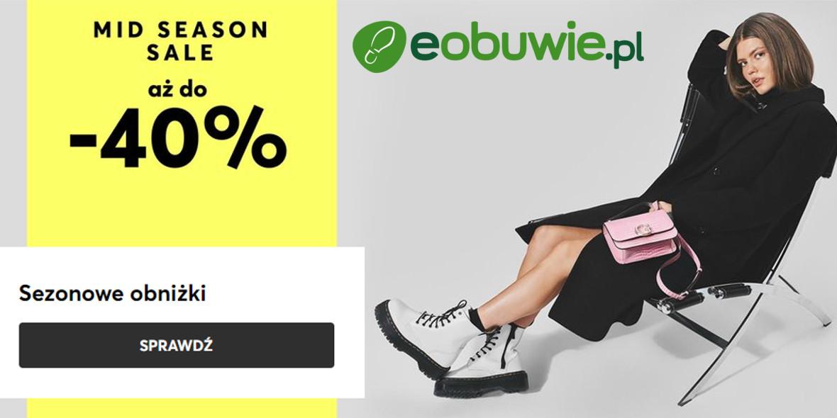 eobuwie.pl:  Do -40% na Mid Season Sale 25.10.2021