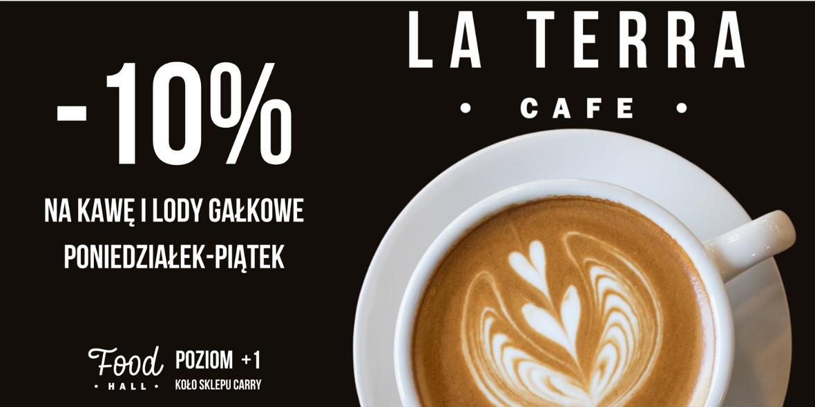 LA TERRA CAFE: -10% na kawę i lody gałkowe w La Terra Cafe 25.08.2020