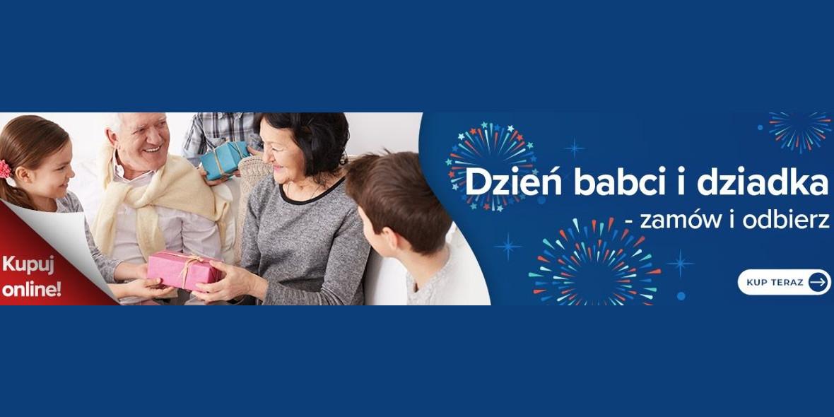 Carrefour: Słodkości na Dzień Babci i Dziadka w Carrefour 15.01.2021