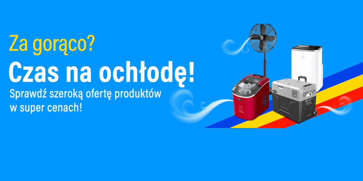 RTV EURO AGD: Do -300 zł na wiatraki i wentylatory 12.07.2021