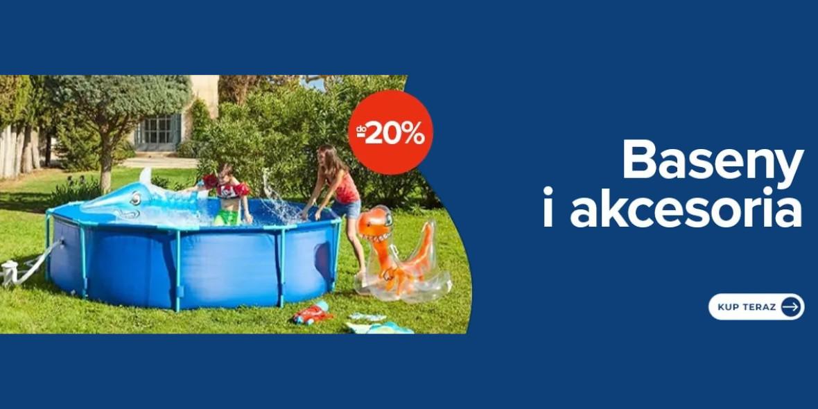 Carrefour: Do -20% na baseny i akcesoria 15.06.2021