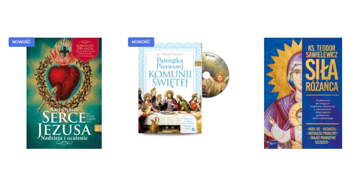 Rafael: -20% na wszystkie książki i filmy z newsletterem