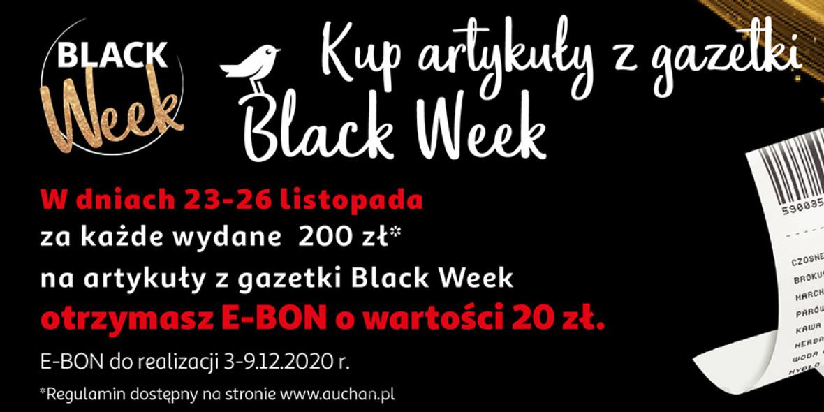 Auchan:  E-bon 20 zł 23.11.2020