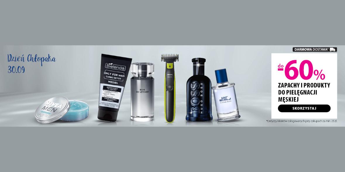 hebe: Do -60% na zapachy i pielęgnację męską 09.09.2021