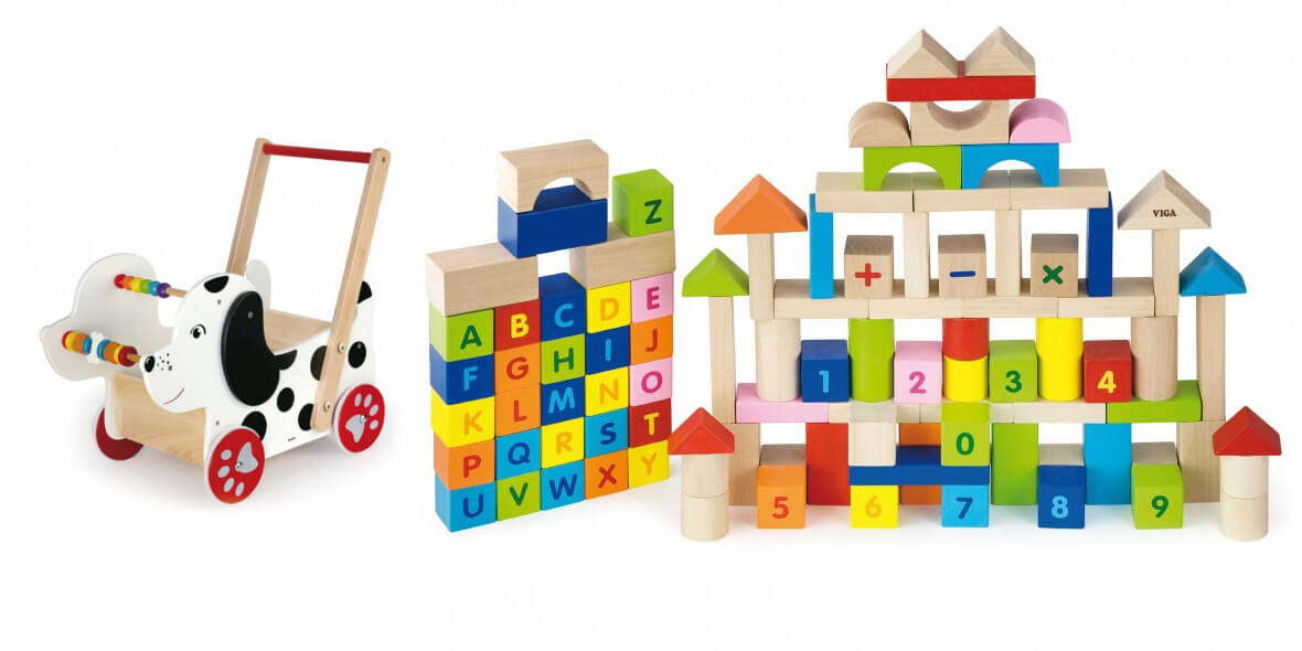 za drewniane zabawki na prezent