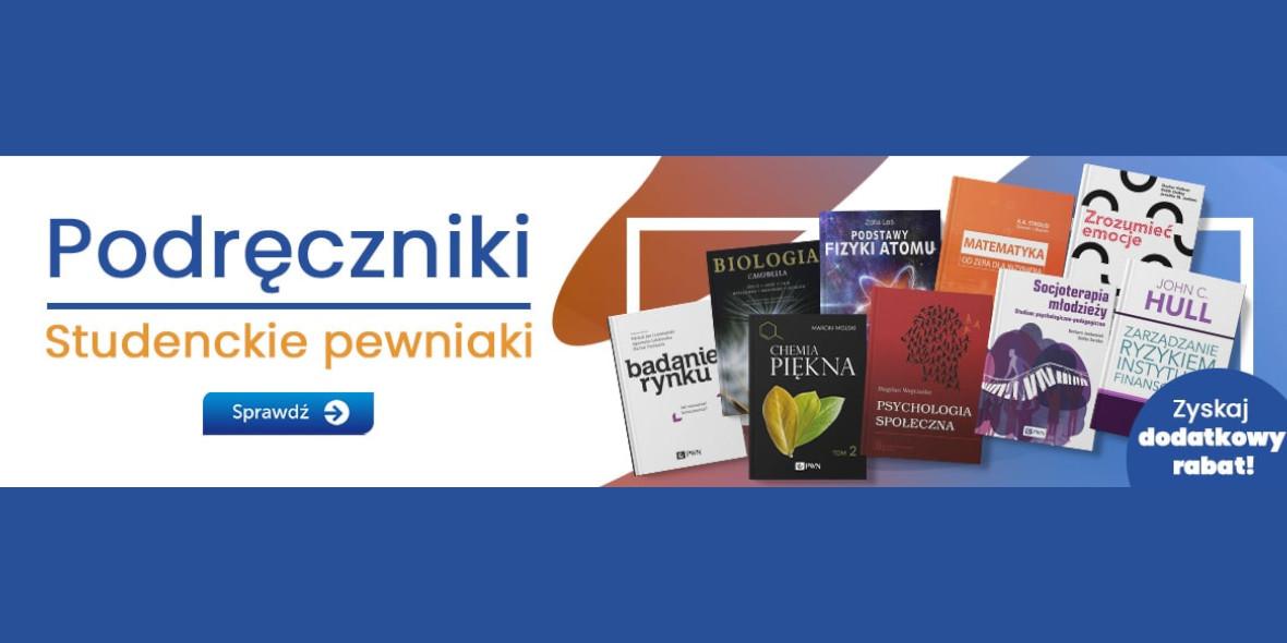 Księgarnia Internetowa PWN: Studenckie pewniaki + dodatkowy rabat