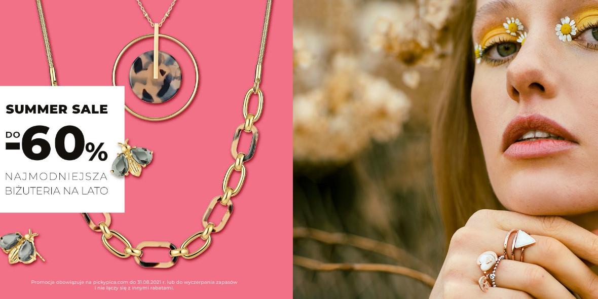 Picky Pica: Do -60% na najmodniejszą biżuterię na lato 10.06.2021