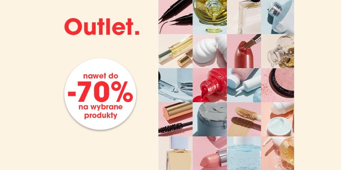 Sephora: Do -70% na wybrane produkty z outletu 14.04.2021