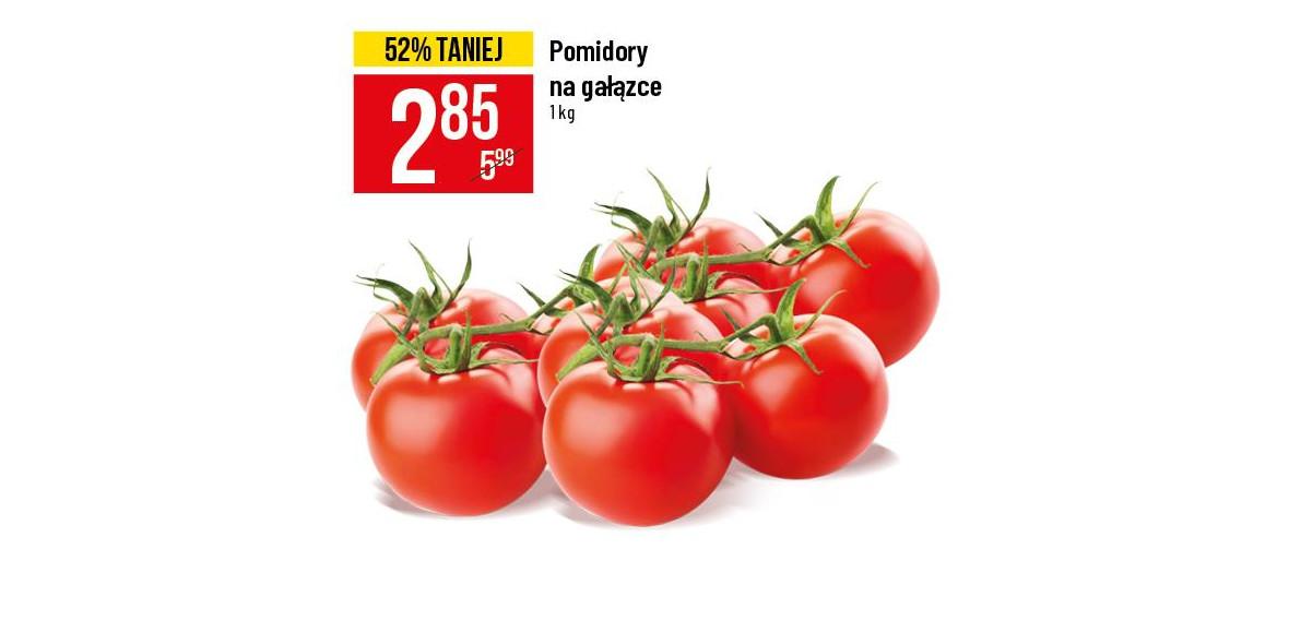 na pomidory na gałązce