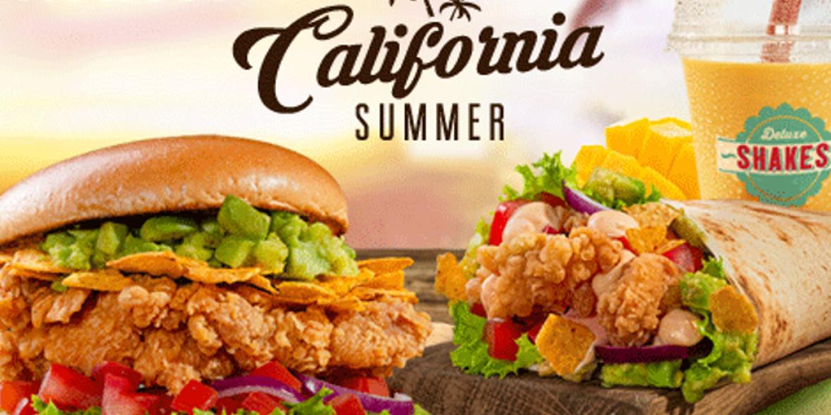 KFC: Od 20,95 zł za California Summer 29.06.2021