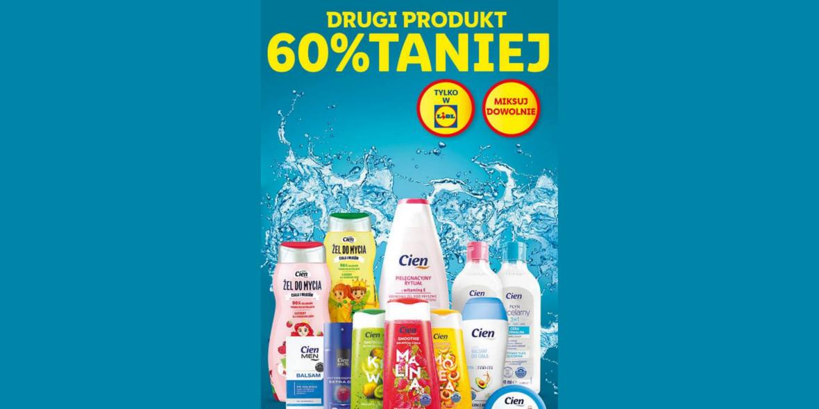Lidl: -60% na drugi produkt marki Cien 18.10.2021