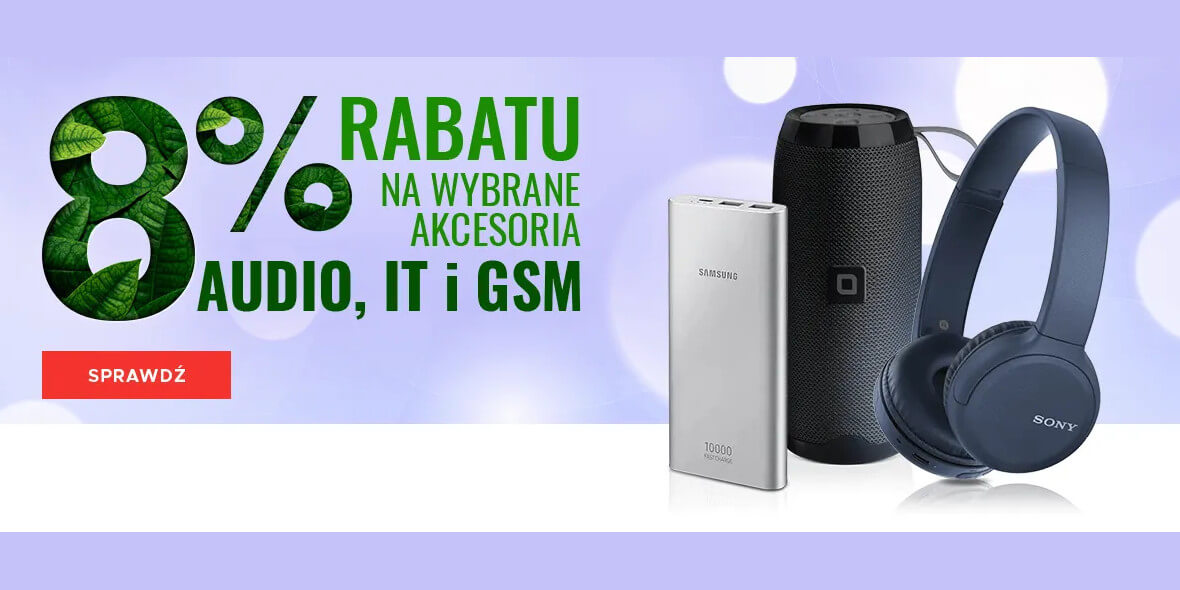 NEO24: -8% na akcesoria Audio, IT i GSM 02.03.2021