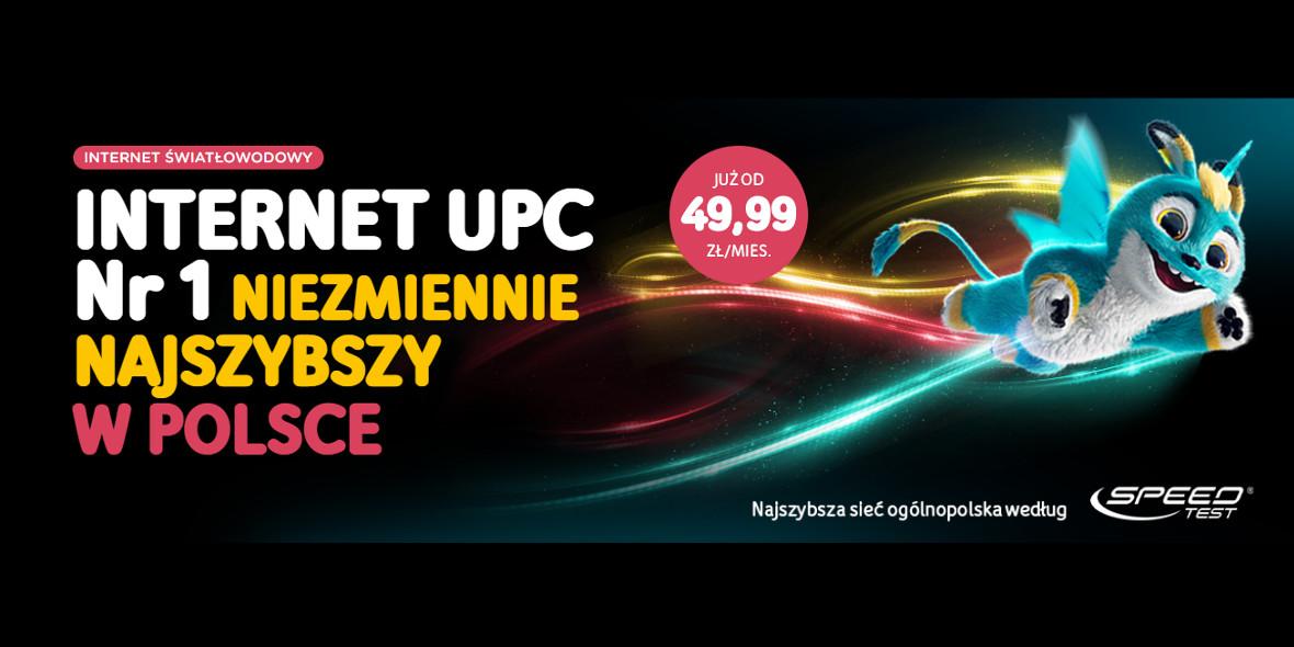 UPC: Od 49,99 zł za internet
