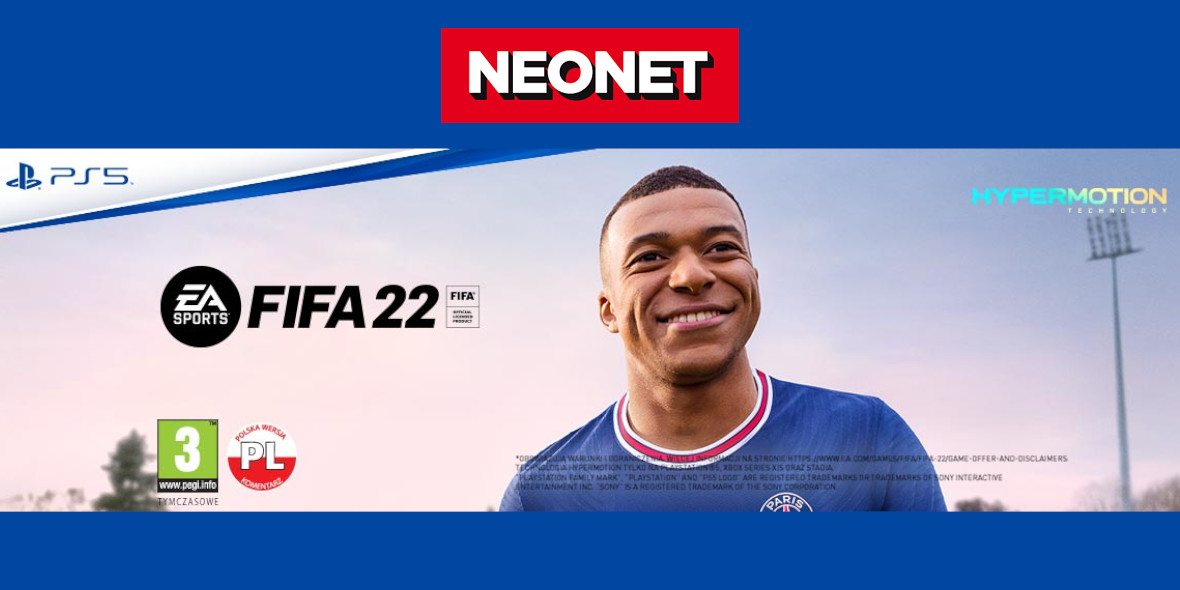 Neonet:  FIFA 22 w przedsprzedaży 21.07.2021