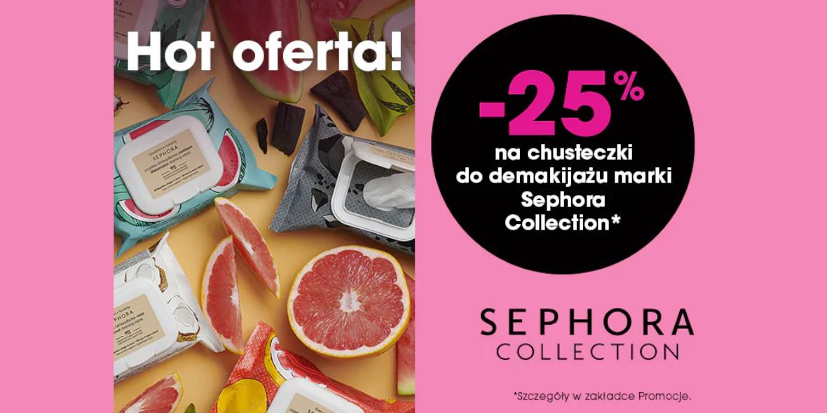 Sephora: -25% na chusteczki do demakijażu 15.06.2021