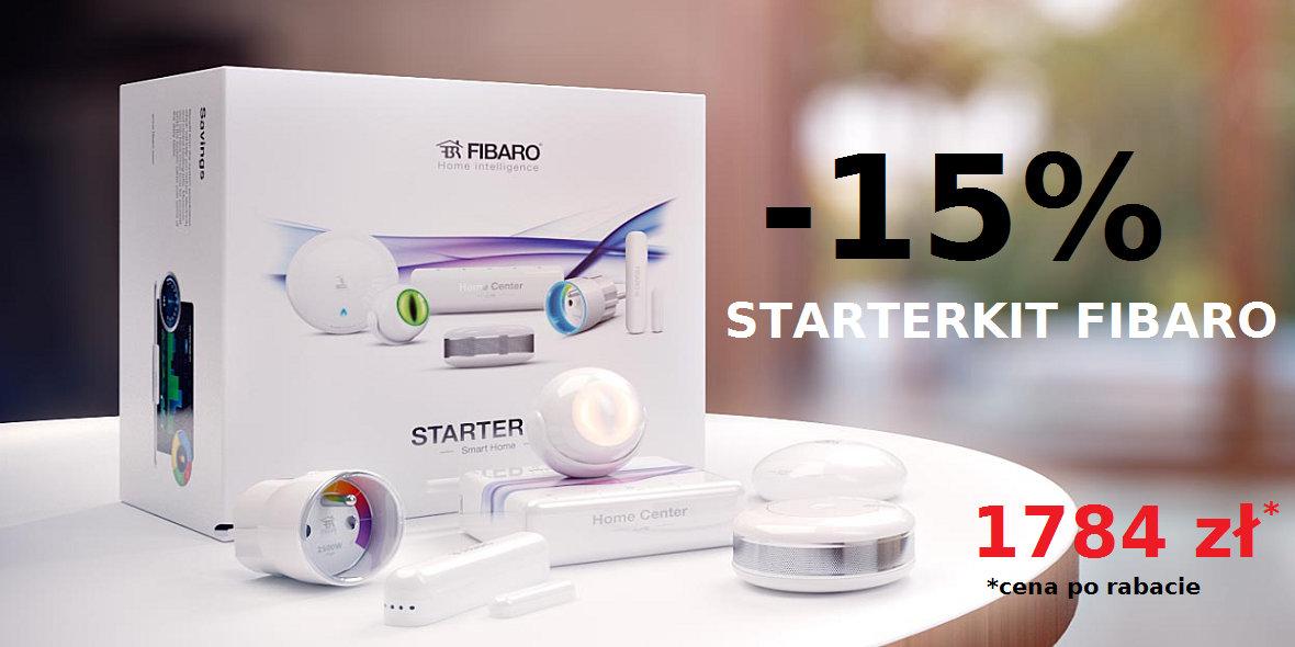 Fibaro: -15% na Starter Kit Fibaro 06.09.2018