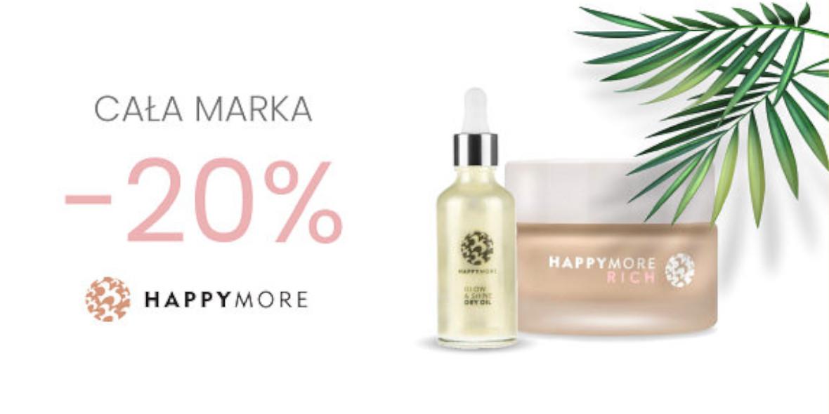 BeClinic: -20% na całą markę Happymore