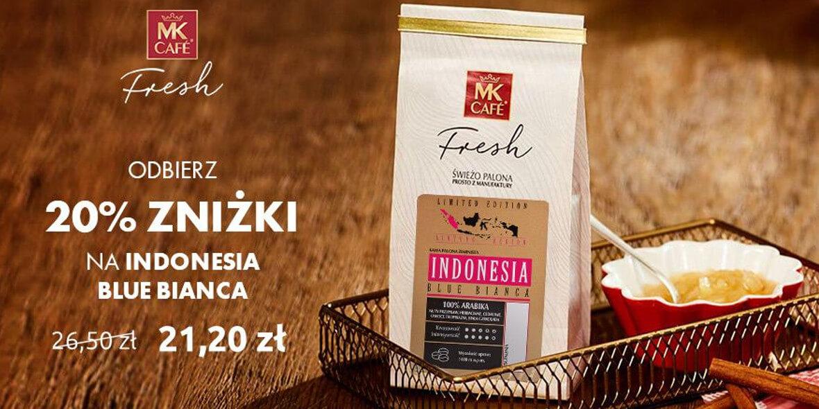 na kawę miesiąca Indonesia Blue Bianca