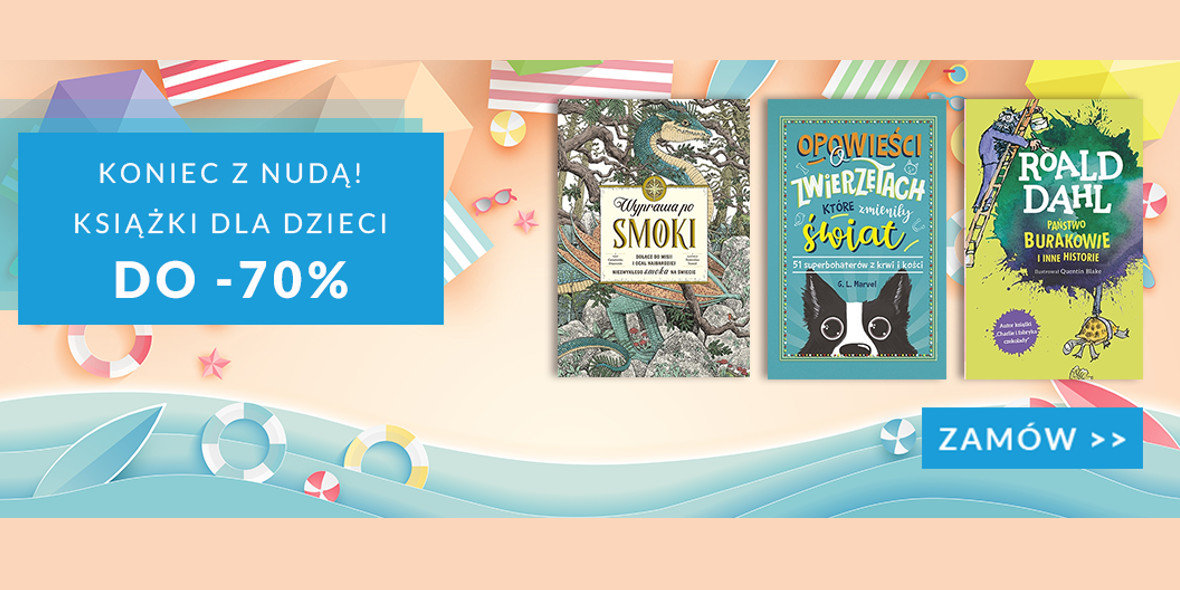 Matras.pl: Do -70% na książki dla dzieci 21.07.2021