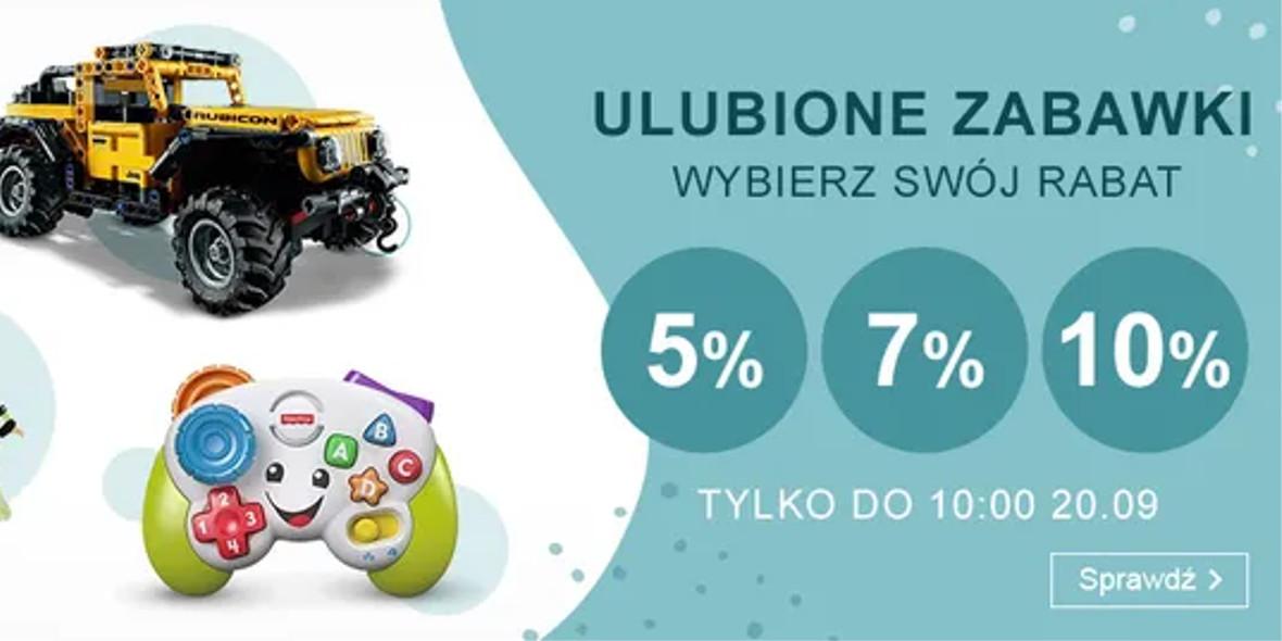 Smyk: Do -10% ekstra na zabawki 17.09.2021