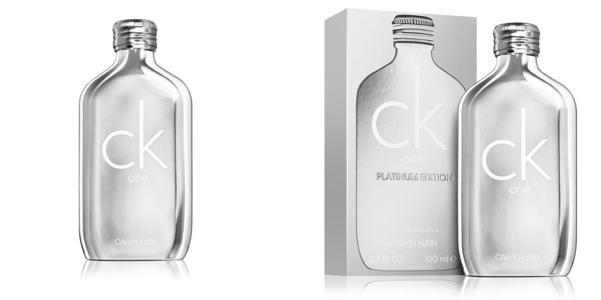 na wodę toaletową unisex CK One Platinum Edition