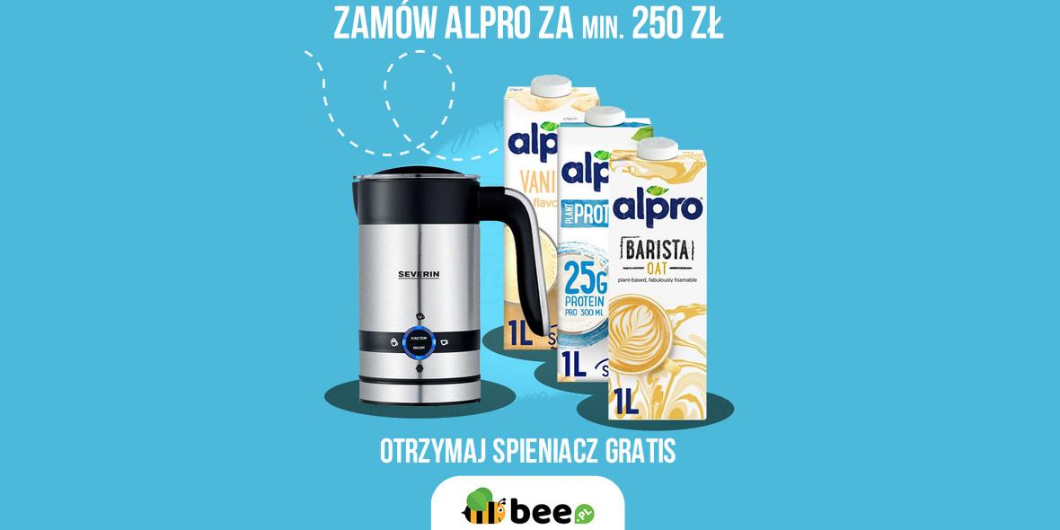 Bee: 1 grosz za spieniacz do mleka