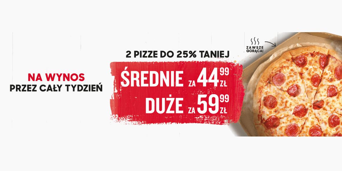 na 2 pizze