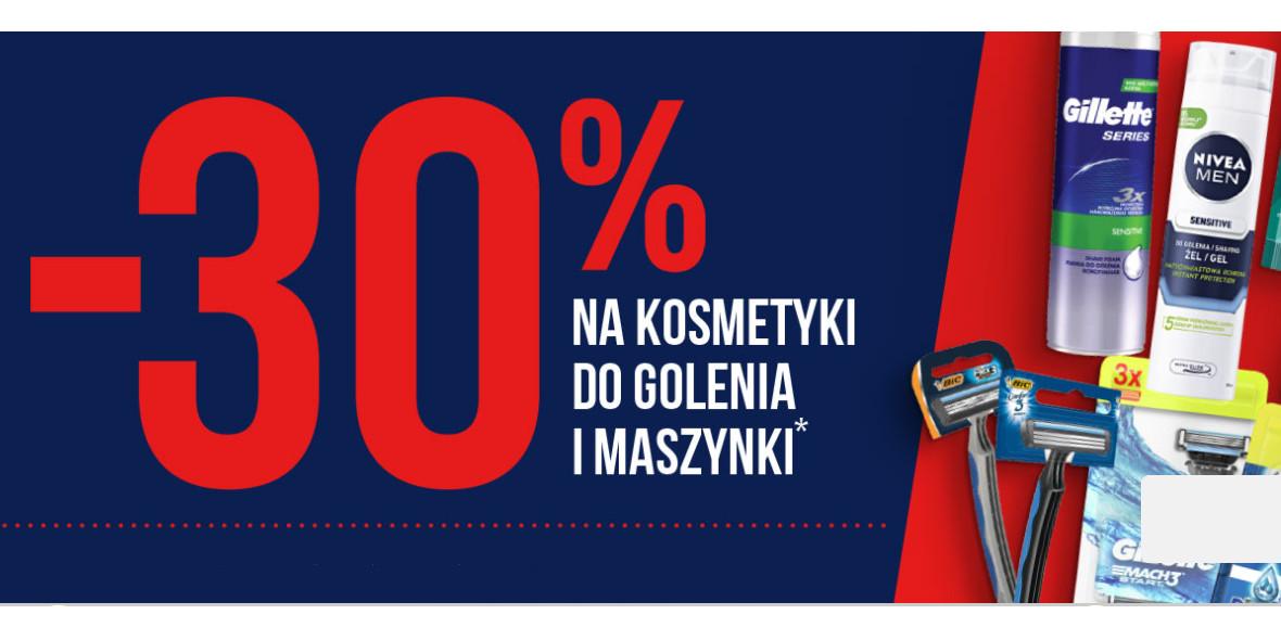 Stokrotka Supermarket: -30% na kosmetyki do golenia 22.06.2021