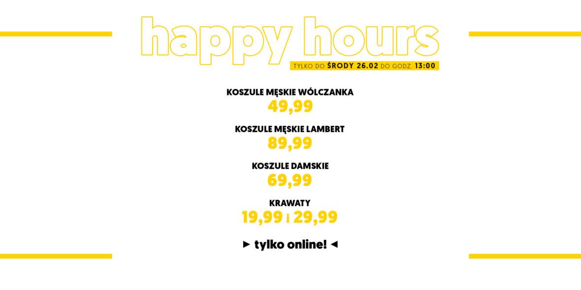Wólczanka: Happy Hours koszule męskie oraz damskie od 69,99 zł  xqFiD