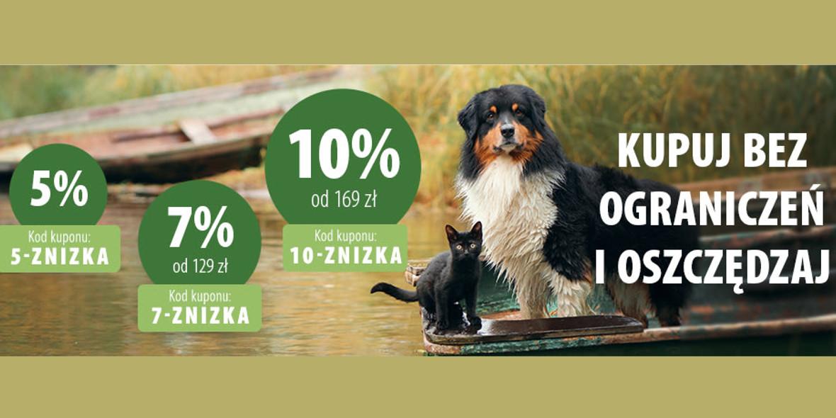 zooplus: Kod: do -10% na wszystko 13.09.2021