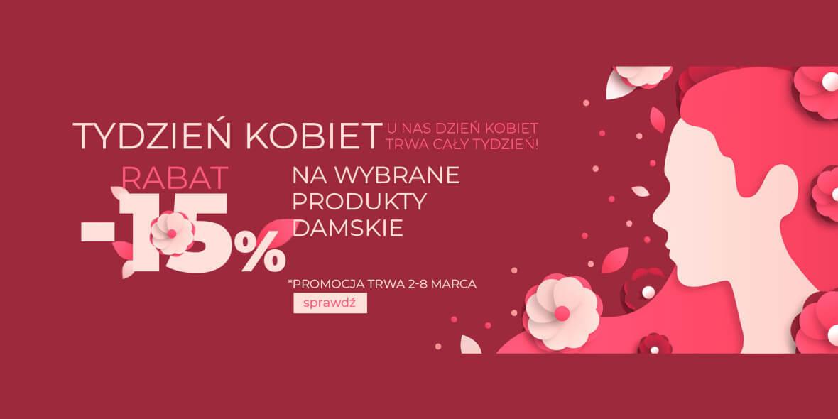 Sportowysklep: Kod: -15% dodatkowo na wybrane produkty damskie 02.03.2021
