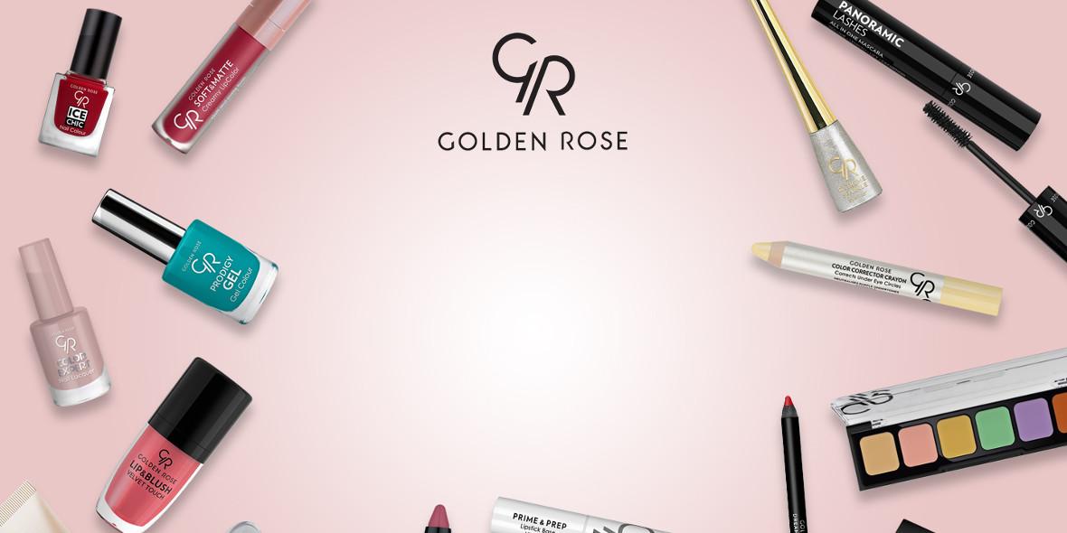 Golden Rose: -10% na produkty do stylizacji brwi